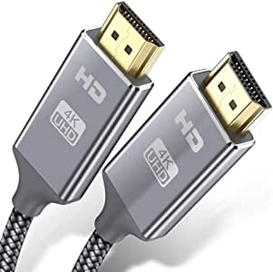 Cable HDMI 4K 0.9 Metros, 2.0 Cable HDMI de Alta Velocidad soporta 4K Ultra HD,Ethernet,3D,2160P,1080P,BLU-Ray,TV, Playstation PS3,PS4, HDTV,Arco,HDCP 2.2,HDR: Amazon.es: Electrónica