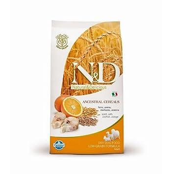 FARMINA N & D Dog Ancestral Adult Mini merluzzo/Naranja Gr 800