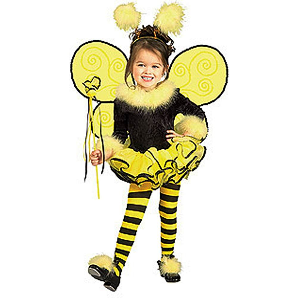 amazoncom rubies bumblee bee child girls halloween costume small home kitchen - Bee Halloween