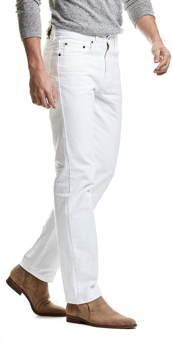 Pantalon Edward S Jeans Classic Mezclilla Blanco Soft Para Hombre Tiro Alto Boot Cut Amazon Com Mx Ropa Zapatos Y Accesorios