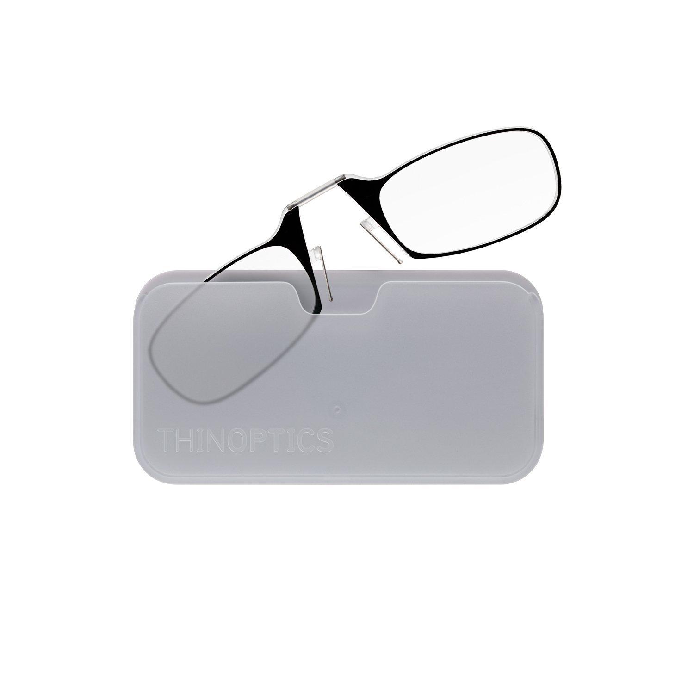 78a7afbc22 ThinOptics Reading Glasses + White Universal Pod Case