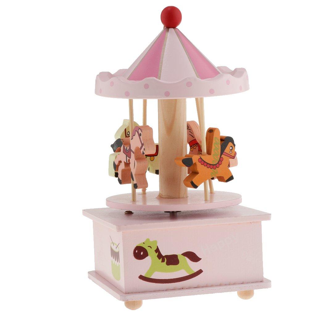 最先端 B B07FDC7J4Q blesiya木製Merry Go Round電子Musical回転おもちゃ ピンク B 95b6c502bbb0340d346d0ff3da821a24 B07FDC7J4Q Go ピンク, Shop L'Allure:f5188851 --- arcego.dominiotemporario.com