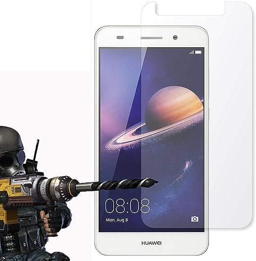 Lot de 2 – Huawei Verre Trempé Crystal Clear Protection d'écran LCD et chiffon, Huawei P10