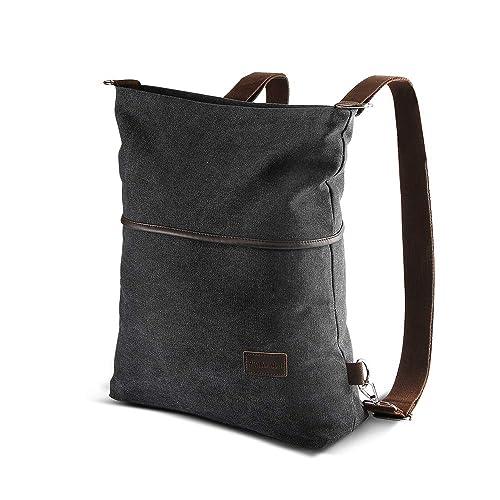 UK Women Satchel Shoulder Bag Tote Messenger Cross Body Large Canvas Handbag
