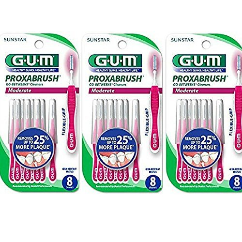 gum proxabrush moderate 10 count buyer's guide