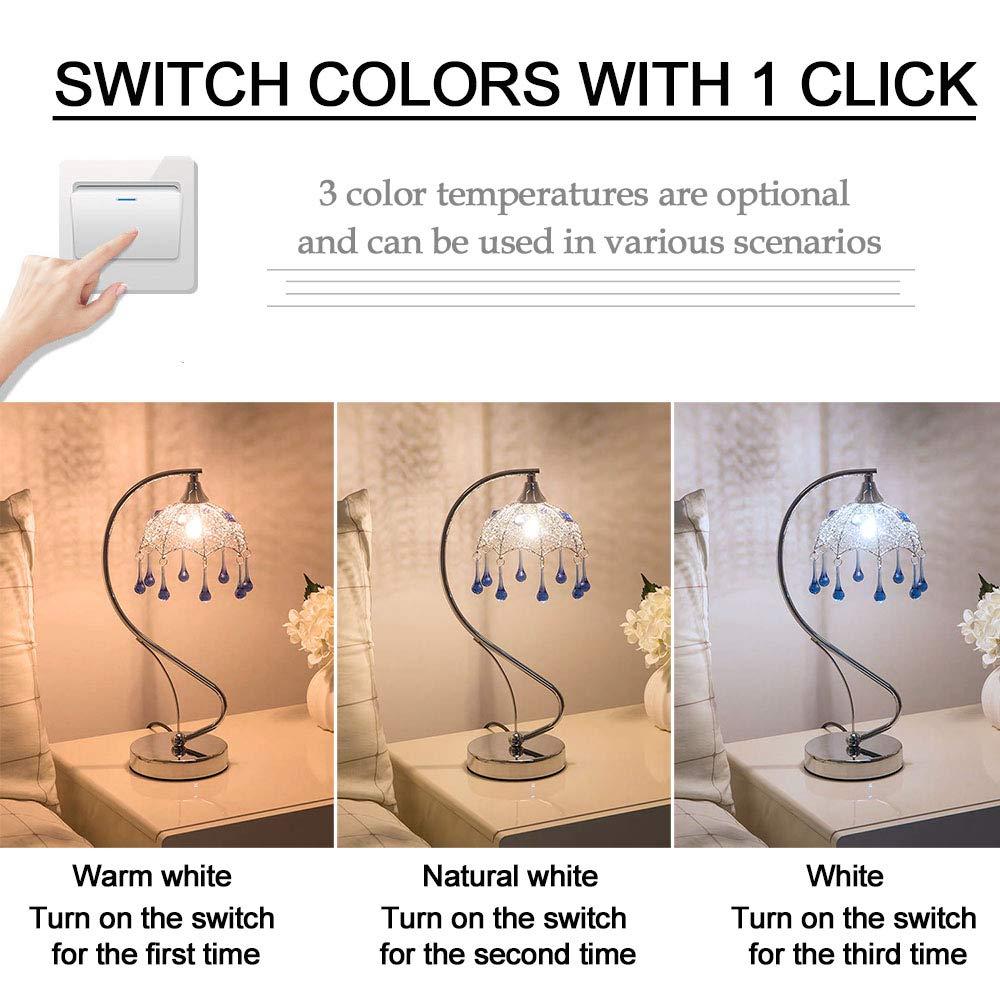 Bombubilla LED Birne G9 Warmwei/ß 3000K AC 220V 3W ersetzt 30W Halogenlampen Nicht Dimmbar 10er G9 LED Lampe