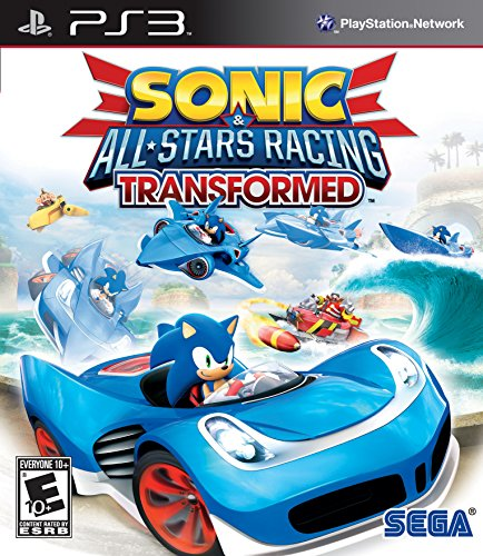 Sonic & All-Stars Racing Transformed  - PlayStation 3 (Games Ps Vita Sonic)