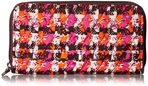 Cotton Rfid Georgia Vera Tweed Wallet Signature Bradley Houndstooth P7gxX4