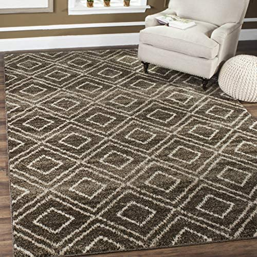 Safavieh Tunisia Collection TUN293B Moroccan Tribal Non-Shedding Stain Resistant Living Room Bedroom Area Rug