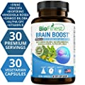 Biofinest Advanced Brain Booster Supplement - Memory, Focus and Clarity Formula - Nootropic Pills for Optimal Performance, Mood and Anti Anxiety, Stress Relief and Relax (30 Capsules)