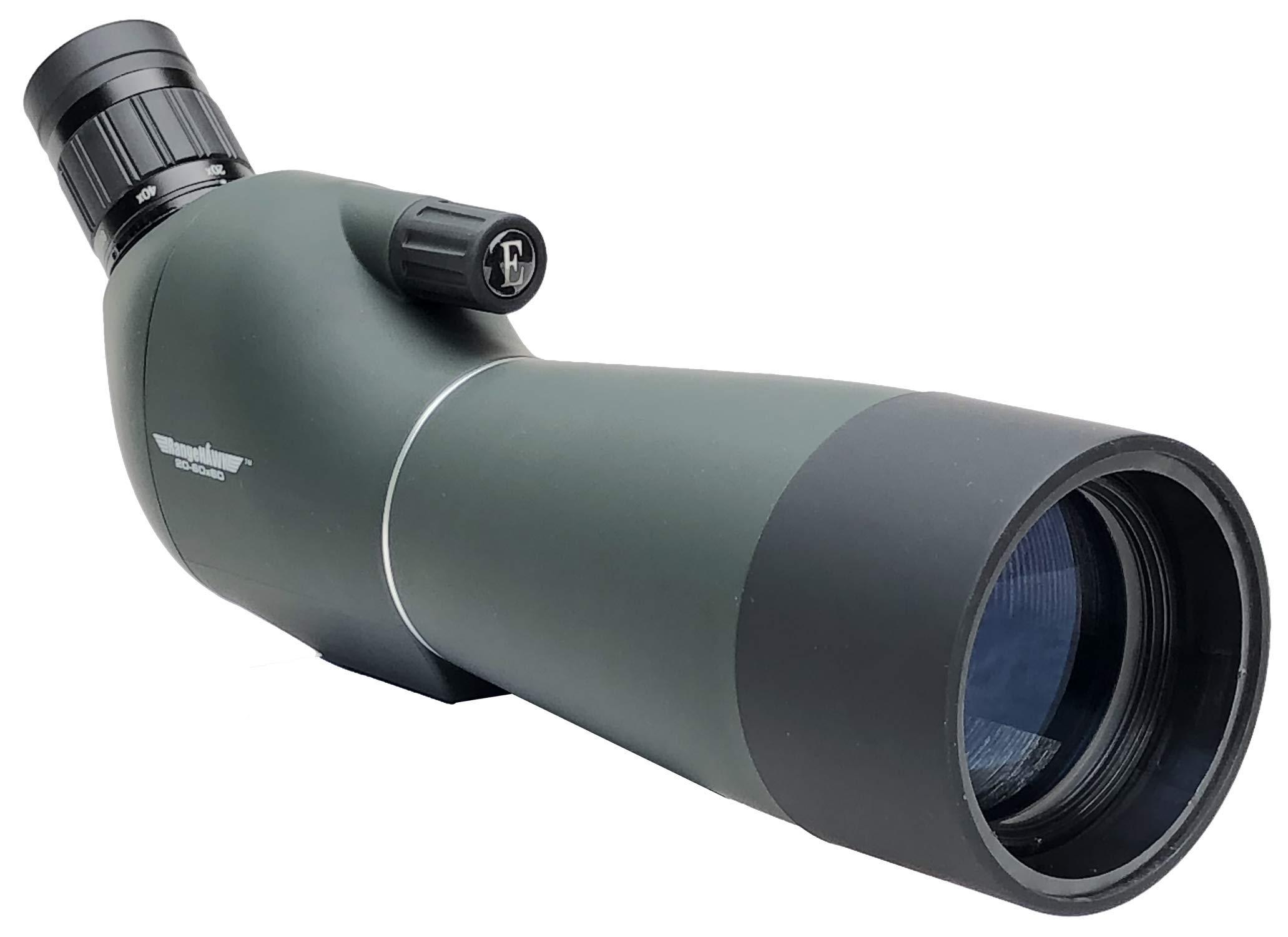 RangeHAWK Target Shooting Spotting Scope (20-60x60), Clear Optics Best for Shooting Range, Hunting, Bird Watching, Archery, Astronomy, Glassing, and More. by RangeHAWK