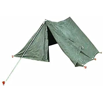 Military Outdoor Clothing U.S. G.I. Canvas Pup Tent - Complete Kit (Used Military Surplus)  sc 1 st  Amazon UK & Military Outdoor Clothing U.S. G.I. Canvas Pup Tent - Complete Kit ...