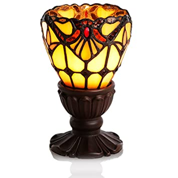 High Quality 6.5H Amber Allistar Uplight Memory Lamp