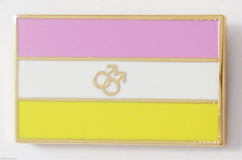 Amazon.com: Twink Gay Pride Rainbow LGBT Flag Pin Badge: Garden & Outdoor