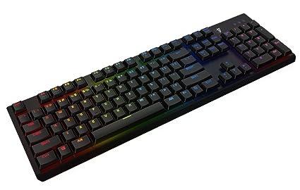 Tesoro gram Spectrum USB QWERTZ Alemán Negro - Teclado (Alámbrico, USB, Interruptor mecánico