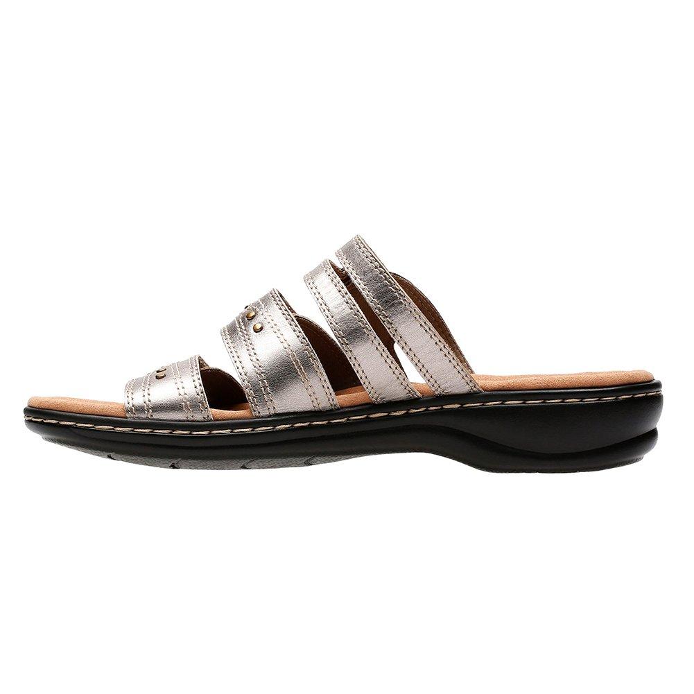 CLARKS Leisa Lakia Women's Sandal B0788WZR4W 8.5 B(M) US|Pewter