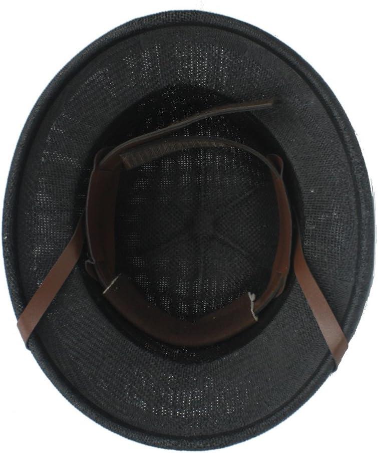 Gorras Novedad Toquilla Straw Helmet Pith Sun Hat para Hombre Vietnam War Army Hat Dad Boater Bucket Deportes y Aire Libre ZHLL Color : 4, tama/ño : 56-59CM