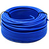 Audiopipe 50' Feet 18 Gauge Blue Primary Remote Wire Car Auto Power Cable