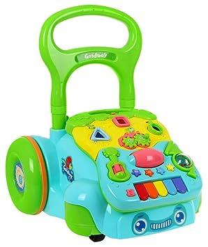 Andador Interactivo para Bebé Correpasillos con Clasificador de Formas - Go Go Walker: Amazon.es: Bebé