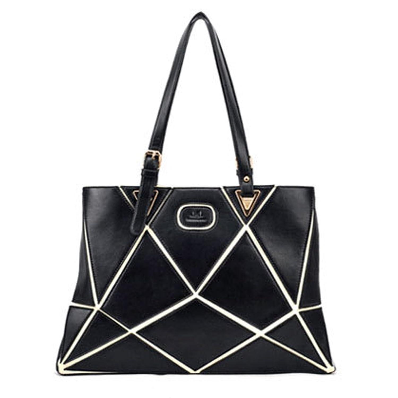FTSUCQ Womens Splice Shoulder Handbags Casual Totes Bag Hobos Satchels