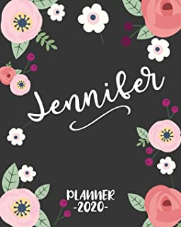 Mia 2019: Personalized Name Weekly Planner 2019: 12 Month ...