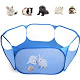 Casifor Guinea Pig Cage Rabbit Cage with Mat Playpen Perfect Size for Small Animal Pet Play Pen Exercise Yard Fence Portable