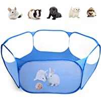 Casifor Guinea Pig Cage Rabbit Cage Indoor with Mat Playpen Perfect Size for Small Animal Pet Play Pen Easy to Clean…