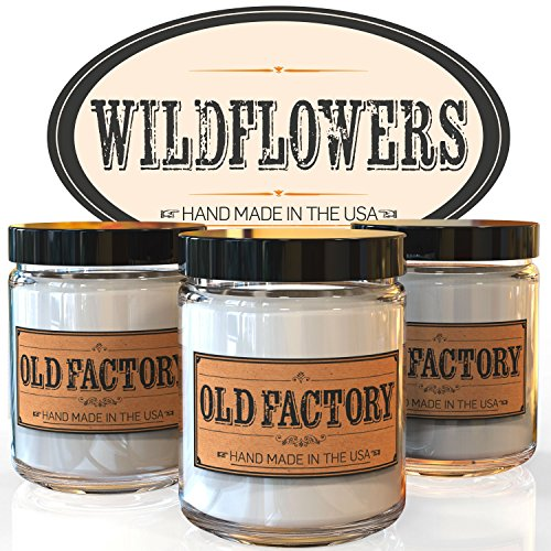 Scented Candles Wildflowers Plumeria 4 Ounce product image