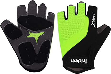 Cycling Gloves Breathable Touch Screen Anti-skid Fitness Sport Full Finger Glove
