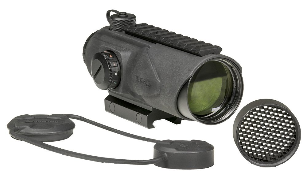 Sightmark SM13026LRD Mens Wolfhound 6x44 LR-308 Prismatic Weapon Sight