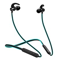 boAt Rockerz 255 in-Ear Earphones with 8 Hours Battery, IPX5, Bluetooth V5.0 and Voice Assistant(Ocean Blue)