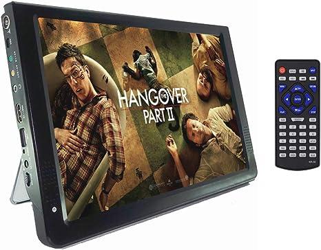 Televisor portátil de 12 Pulgadas, DVB-T-T2 110-220V Televisores ...