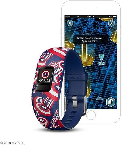 Garmin Vívofit Kids Jr. 2 Fitness Activity Tracker Captain America design
