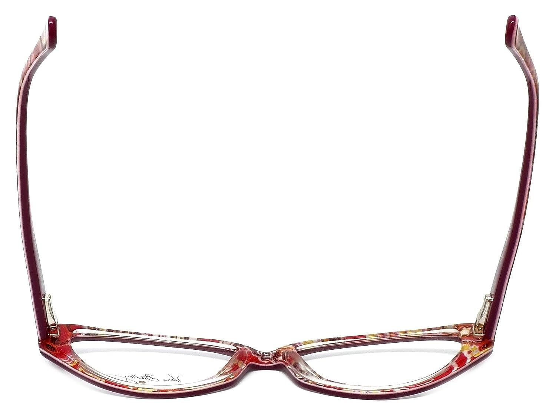 e39b026e91 Amazon.com  Vera Bradley Designer Eyeglasses Isabella RFZ in Raspberry-Fizz  51mm DEMO LENS  Clothing