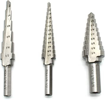 """TOMITA T197  DR-324-3 SOLID CARBIDE STEP DRILL .245/"""" x .370/"""" x 3-1//4/"""" LONG"""