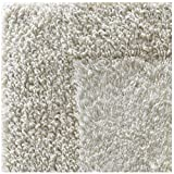 Regence Home Reversible Cotton Bath Rug, 17-Inch by 23-Inch, Natural