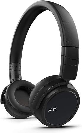 Jays On Ear Kopfhörer Bluetooth X Five Schwarz Elektronik