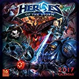 Heroes of the Storm 2017 Wall Calendar