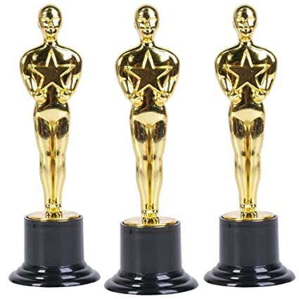 Oscar Star Trophies For Award Ceremonies Or Parties  High Perfect Achievement Awards Or Birthday