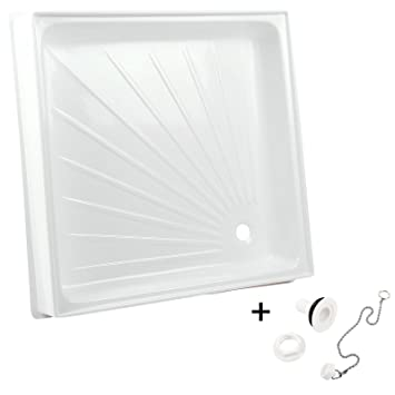 Caravan Campervan Shower Tray White 25081/W