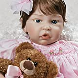 Paradise Galleries Pretty in Pink Doll, Realistic & Lifelike in Silicone-Like FlexTouch Vinyl & Weighted Body