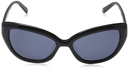 Amazon.com: LOVE MOSCHINO Womens Sunglasses 56 Black: Clothing