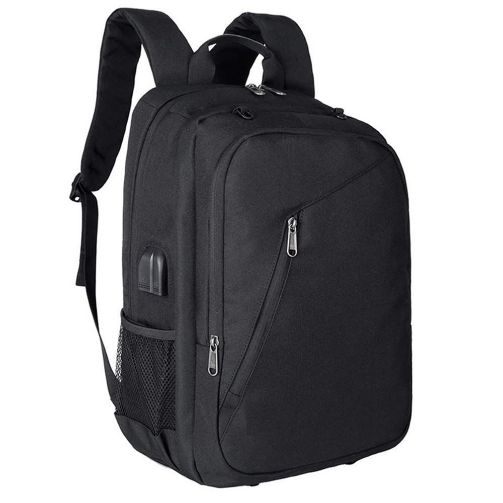 17.5 Inch Student Bag, USB Recharging Laptop Backpack Unisex Notebook School Bags, Casual Fashion Outdoor Backpack For Men and Women