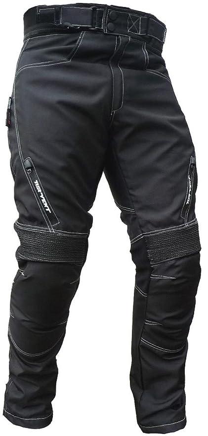 M Sportliche Motorrad Hose Motorradhose Schwarz Gr