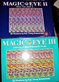 img - for Magic Eye, Now You See It, Vol. 2 & Vol. 3 (Hardcover) (Magic Eye) book / textbook / text book