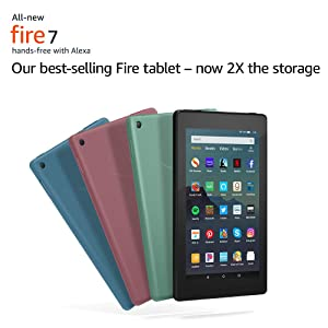 "All-New Fire 7 Tablet (7"" display, 16 GB) - Black"