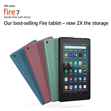 Best Fire Tablet 2019 Amazon.com: All New Fire 7 Tablet. Our best selling tablet—now 2X