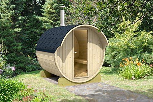Allwood Barrel Sauna 220-WHC Wood Fired Heater
