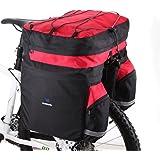 doco oler 60L Sac porte-bagages Double Side Vélo Vélo arrière siège Trunk Bag Pannier