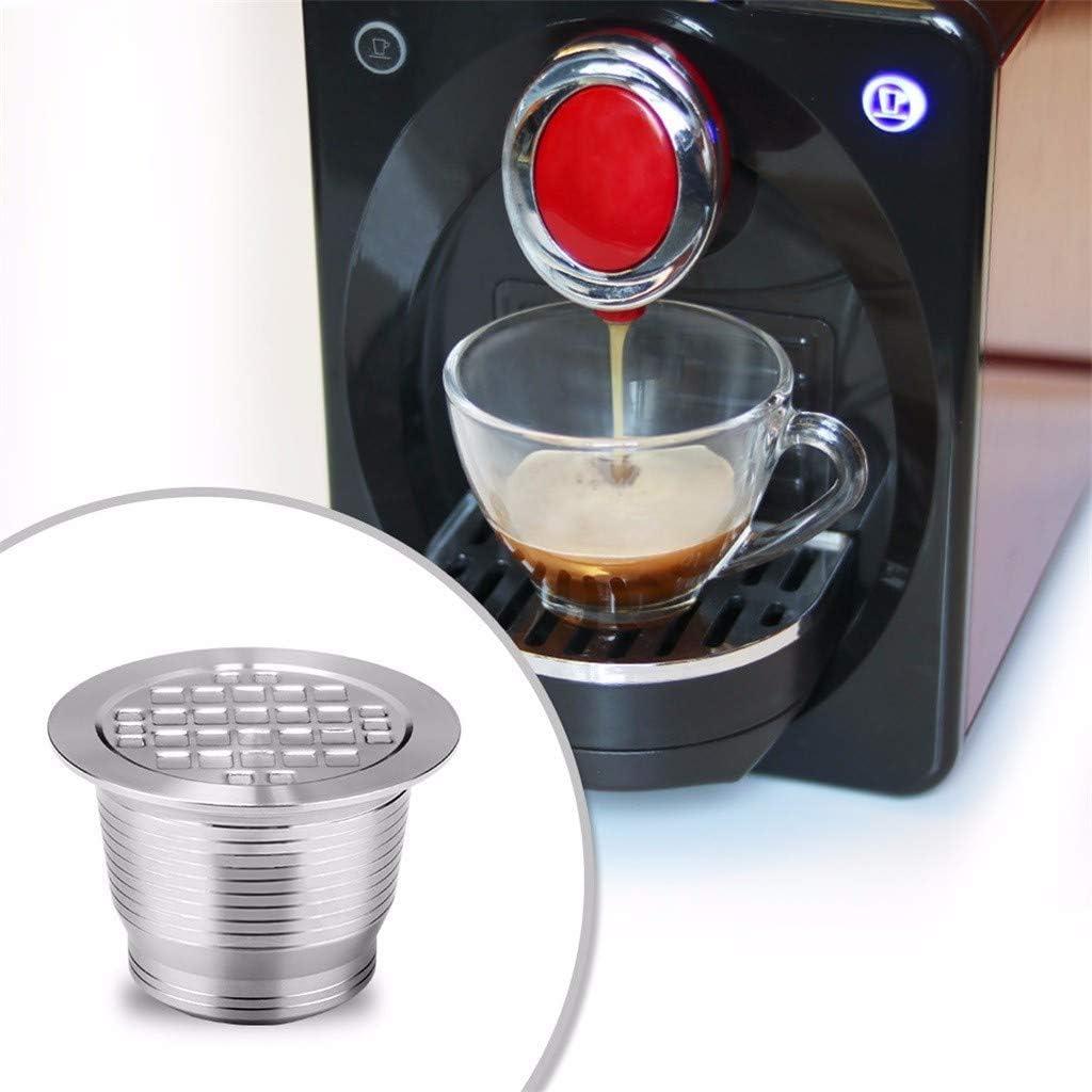 NiNiF - Filtro de café para cafetera Nespresso (acero inoxidable ...